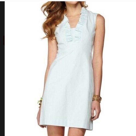 Lilly Pulitzer Dresses & Skirts - Lilly Pulitzer Sz 6 Adeline Seersucker Dress